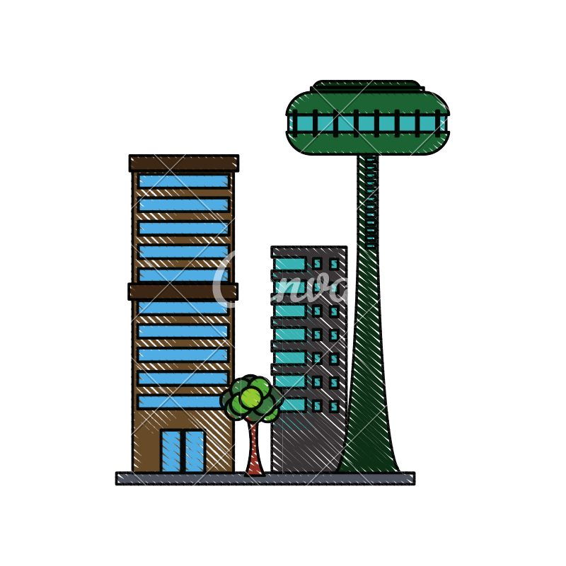 Futuristic building png. Buildings city icon icons
