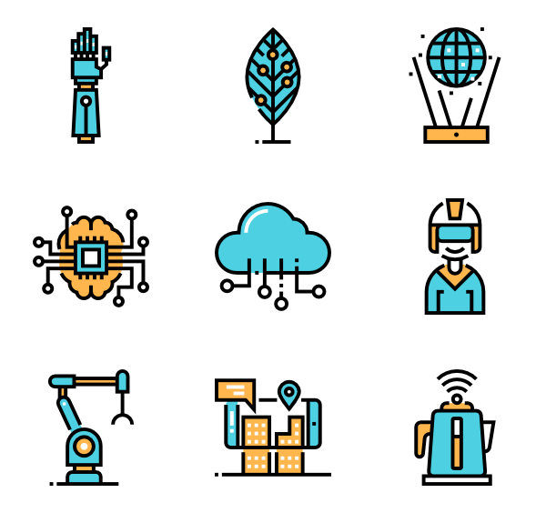 Futuristic buttons png. Icon packs vector
