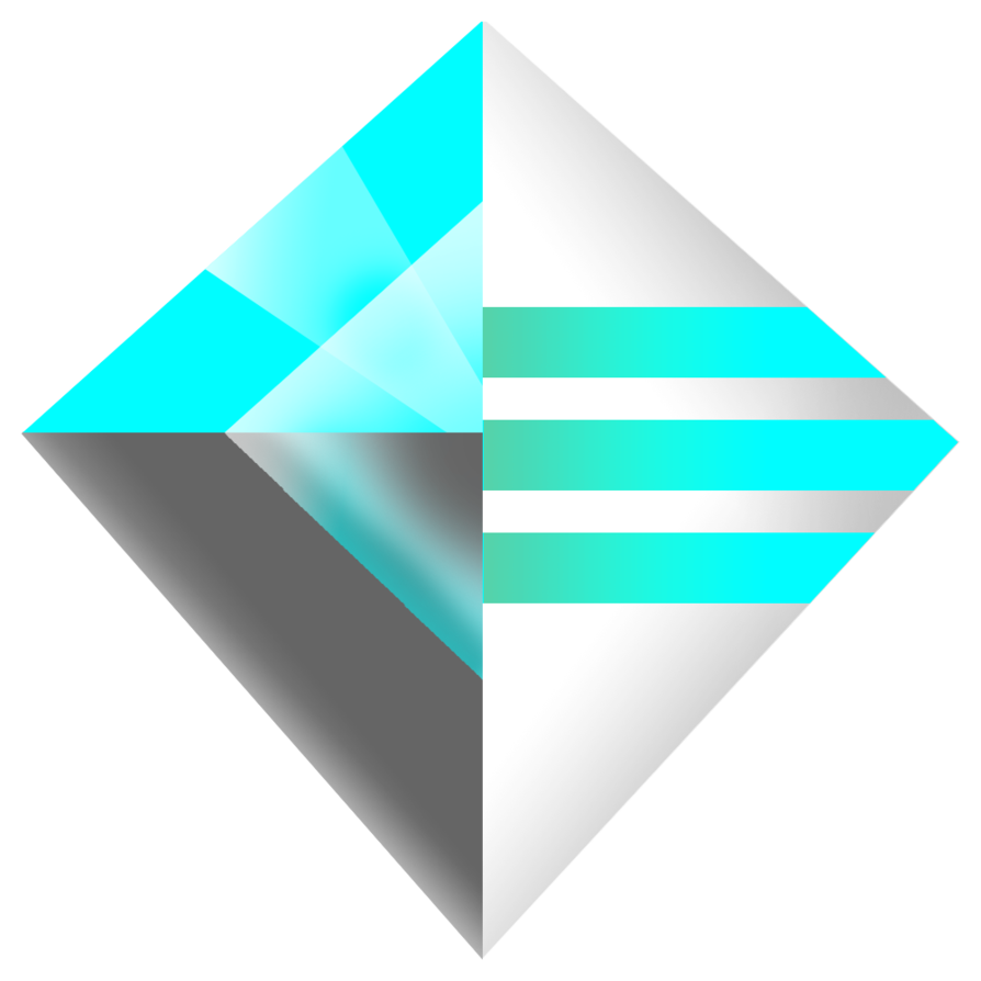 Futuristic vector transparent. Logo by florian on