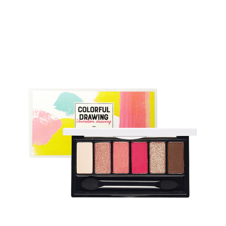 G drawing color. Etude house colorful fantastic