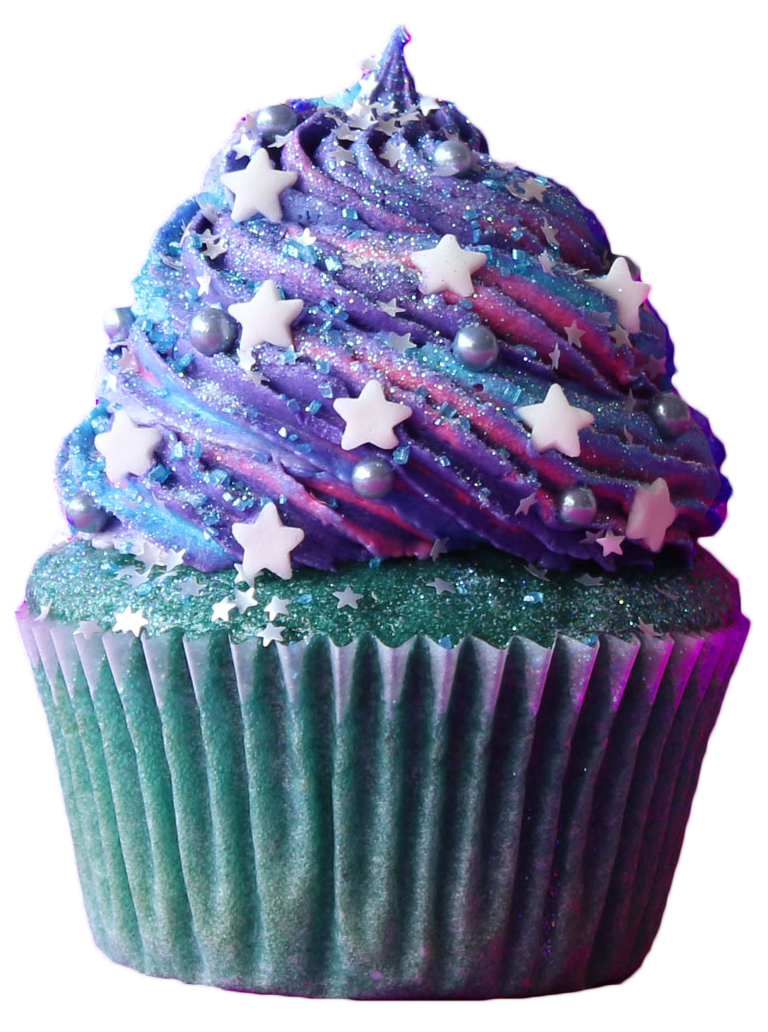 Galaxy clipart cupcake. Cupcakes square png picture