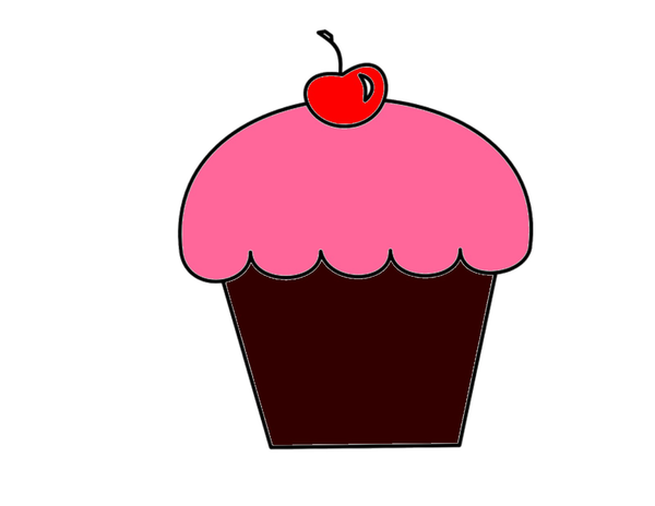Galaxy clipart cupcake. Free images at clker