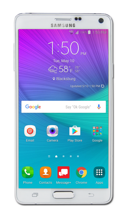 Galaxy note 4 png. Samsung