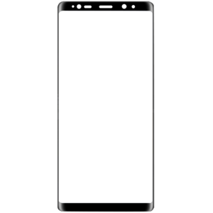 Galaxy note 8 png. Black d edge to