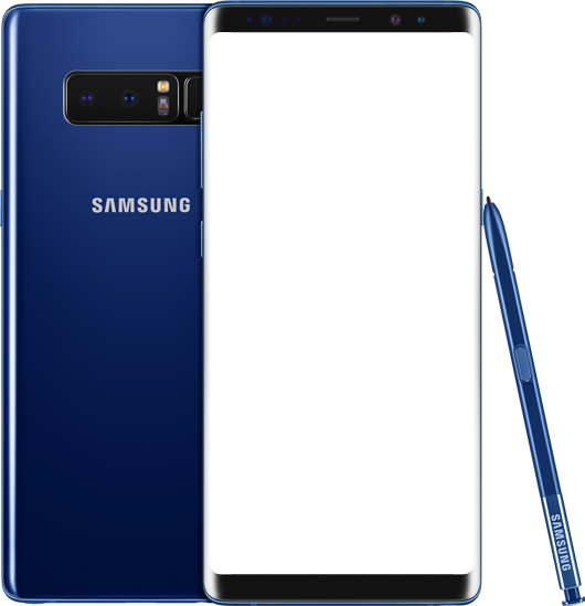 Galaxy note 8 png. Samsung singapore front view