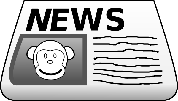News clipart news update. Newspaper gallery for panda