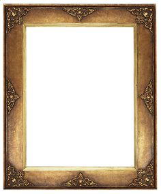 Gallery clipart framing. Antique frame gold panda