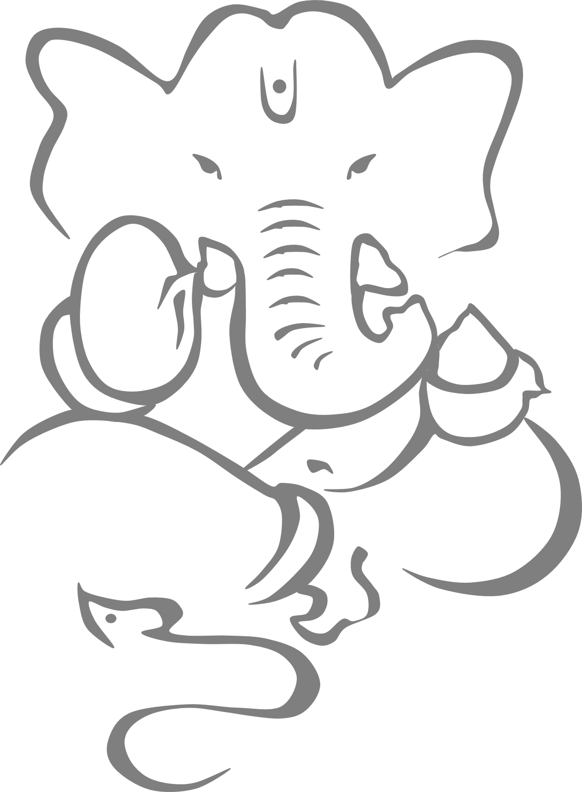 Ganesh vector wedding card. Free ganesha cliparts download