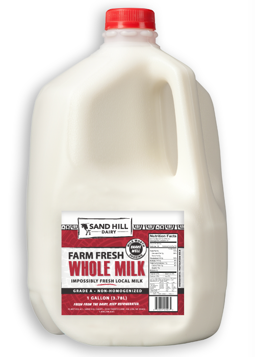 Gallon milk png. Whole delivered every wednesday