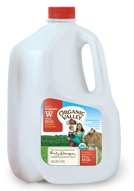 Gallon milk png. Whole pasteurized buy organic