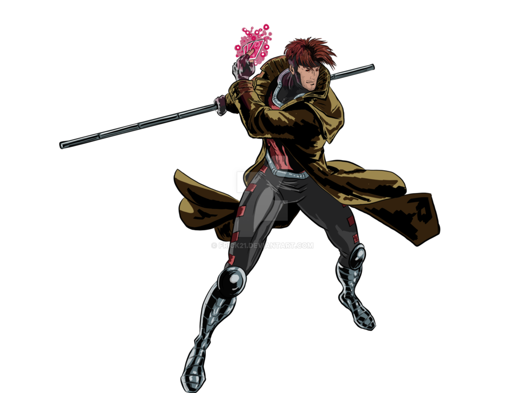Xmen drawing gambit. Digital by frick on