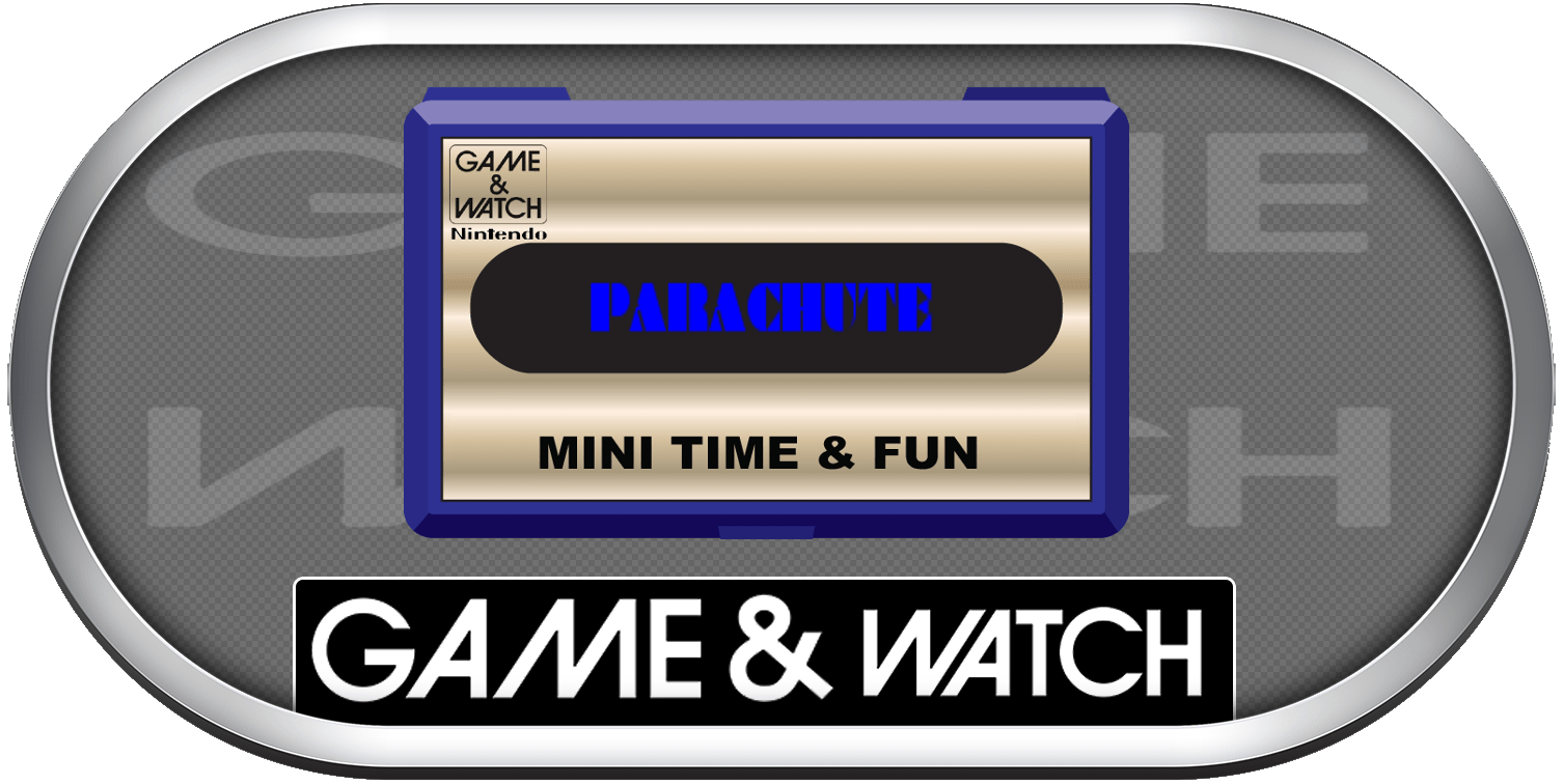 Game and watch parachute png. Silver ring clear logo