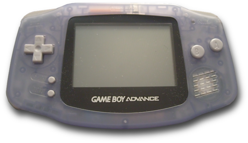 D transparent gameboy. Image px advance on