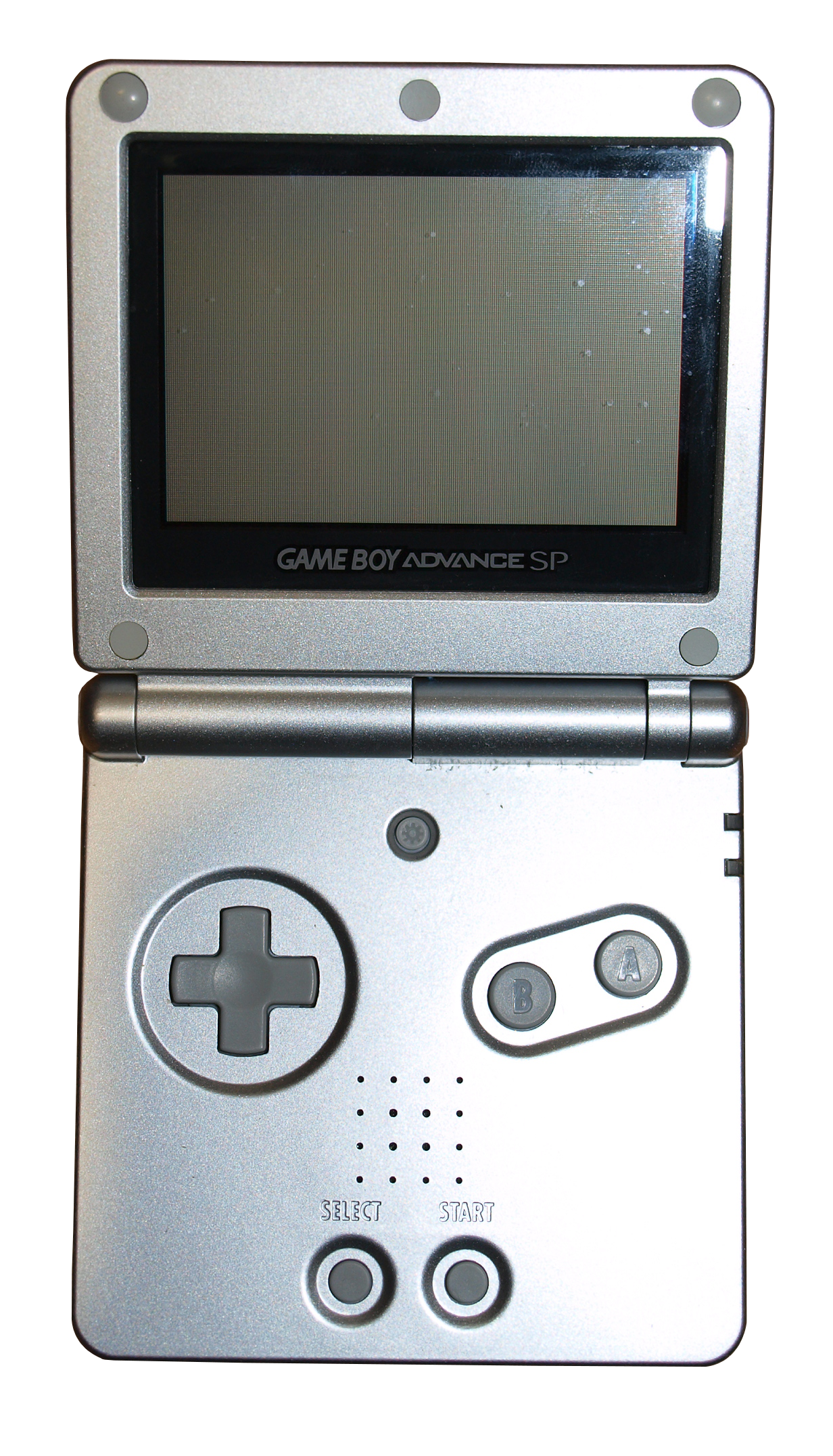 D transparent gameboy. Nintendo advance sp binary