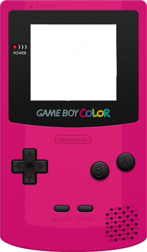 game boy color buttons png