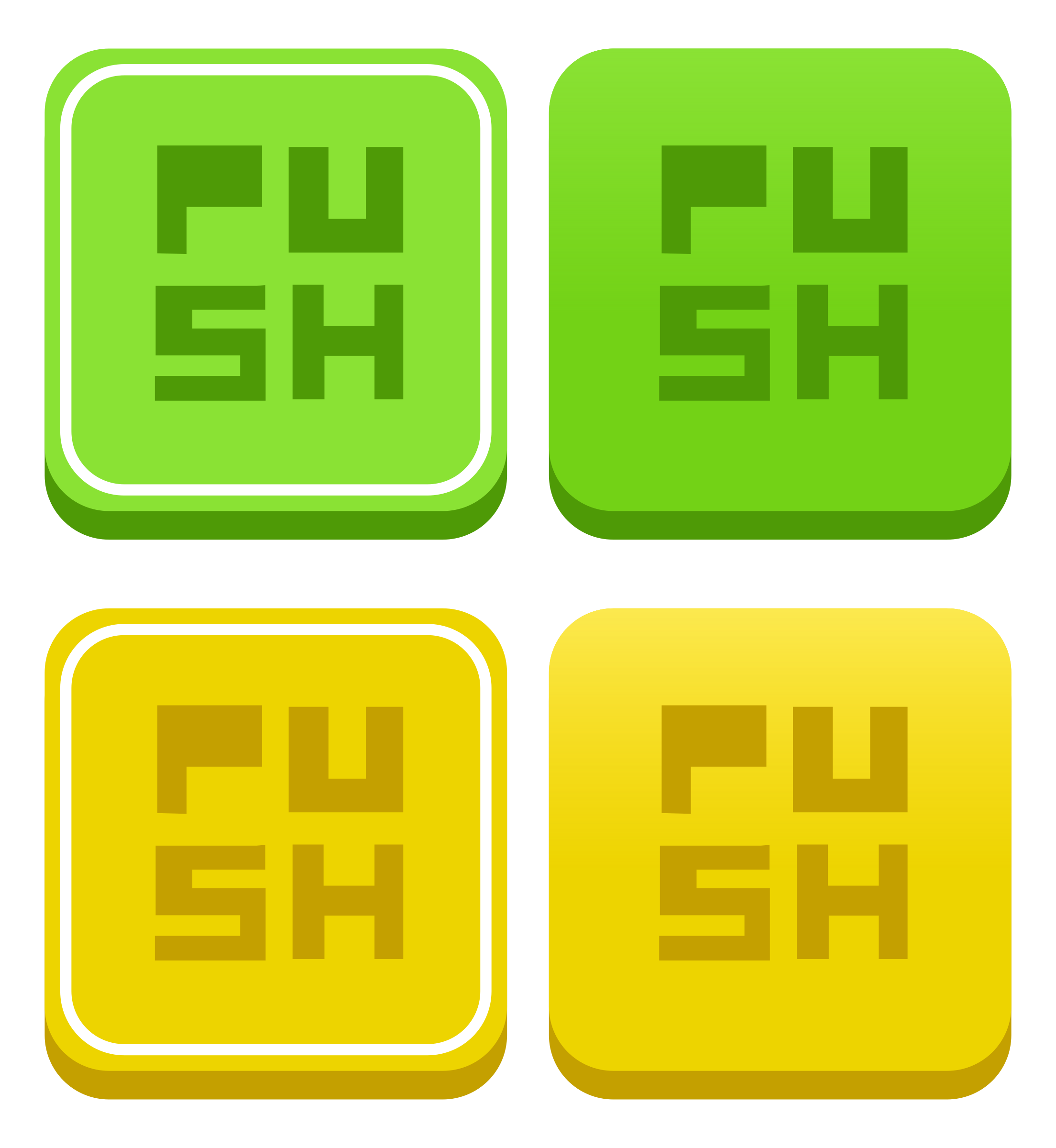 Game button png. Flat shaded minimal ui