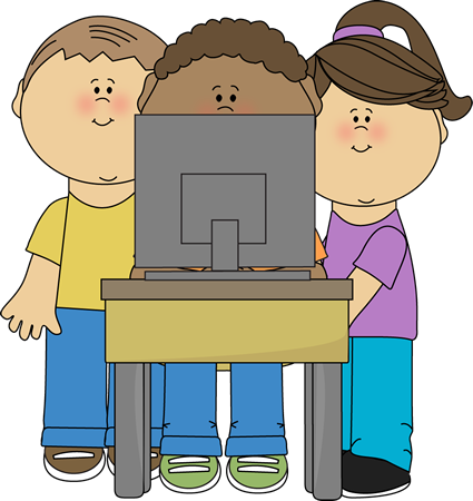 computers clipart child