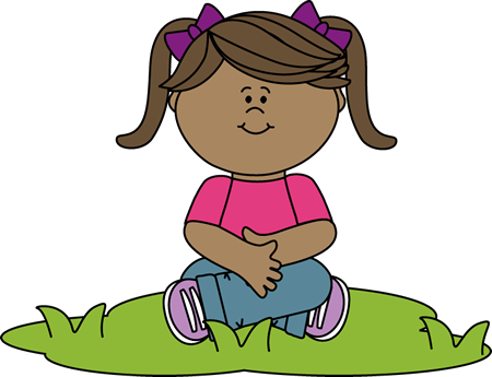 Game clipart kid sit. Sitting in grass clip