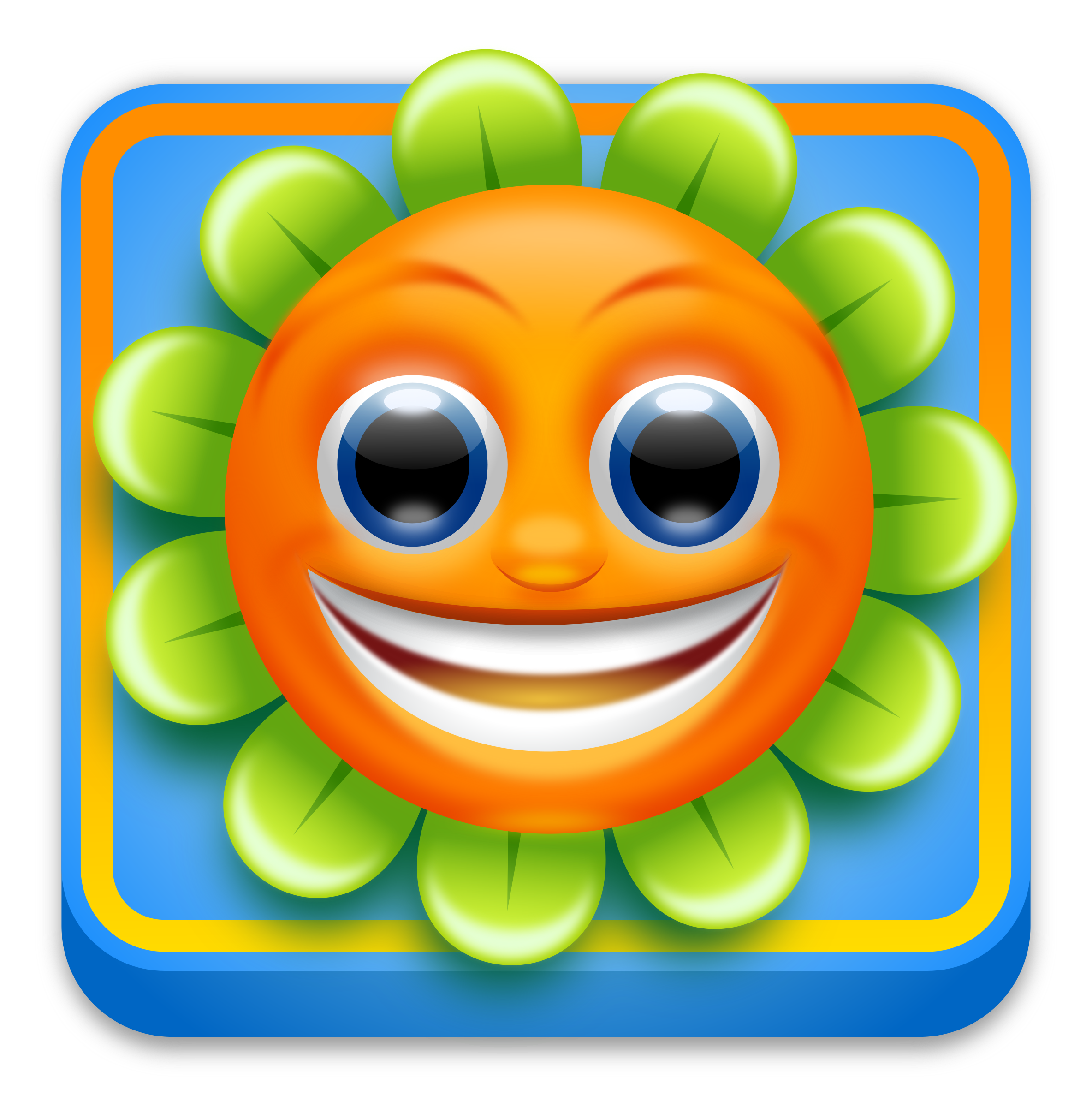 Game clipart mobile game. App icon d style