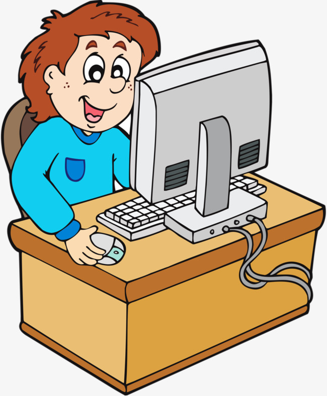 Game clipart uses computer. Boy png image and