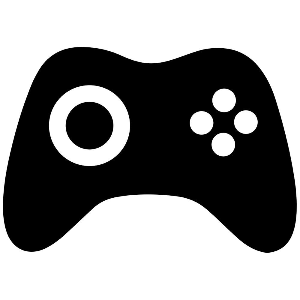 Game clipart video game controller. Silhouette free collection download