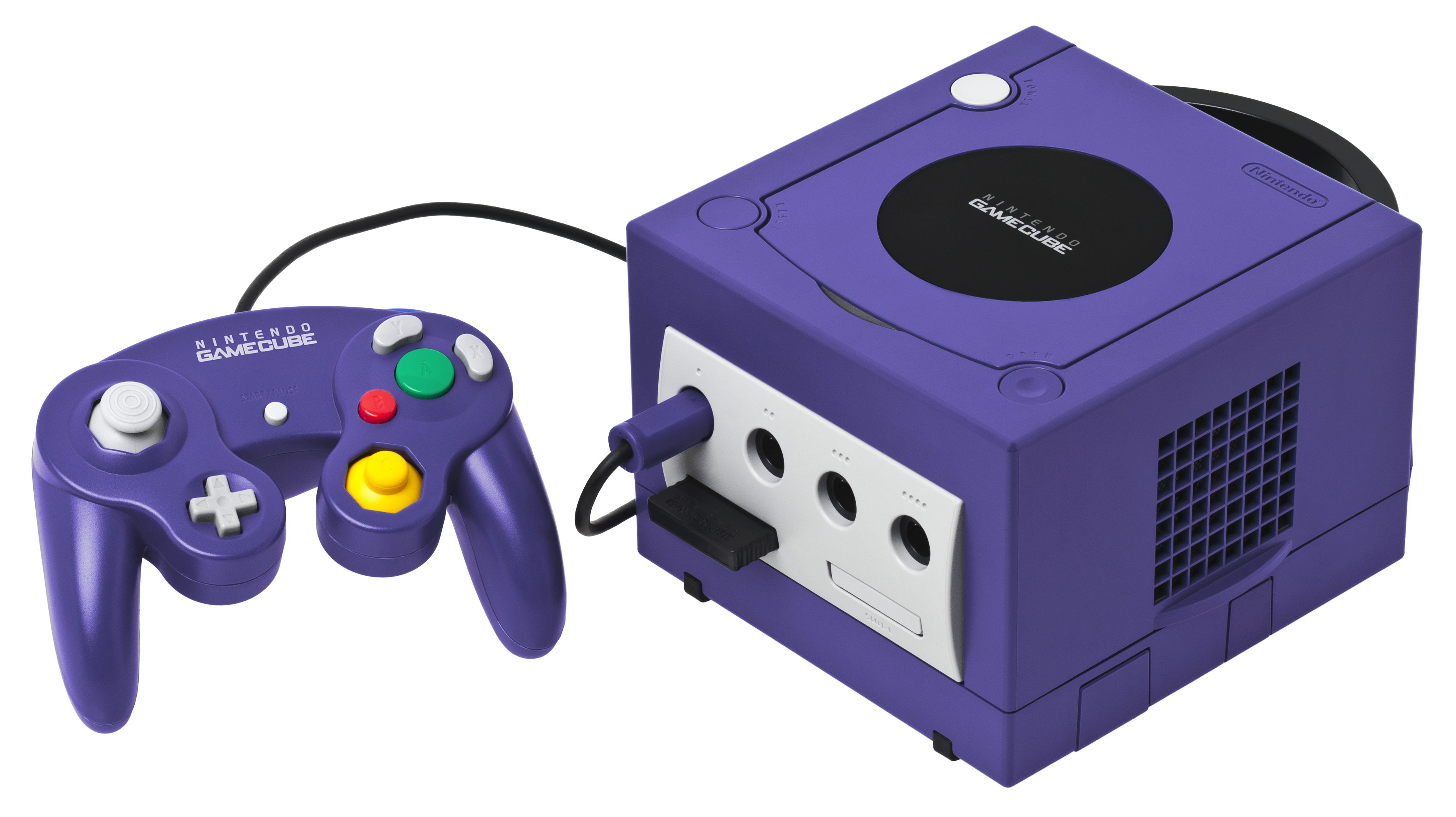 Game cube b buttons png. File gamecube console set