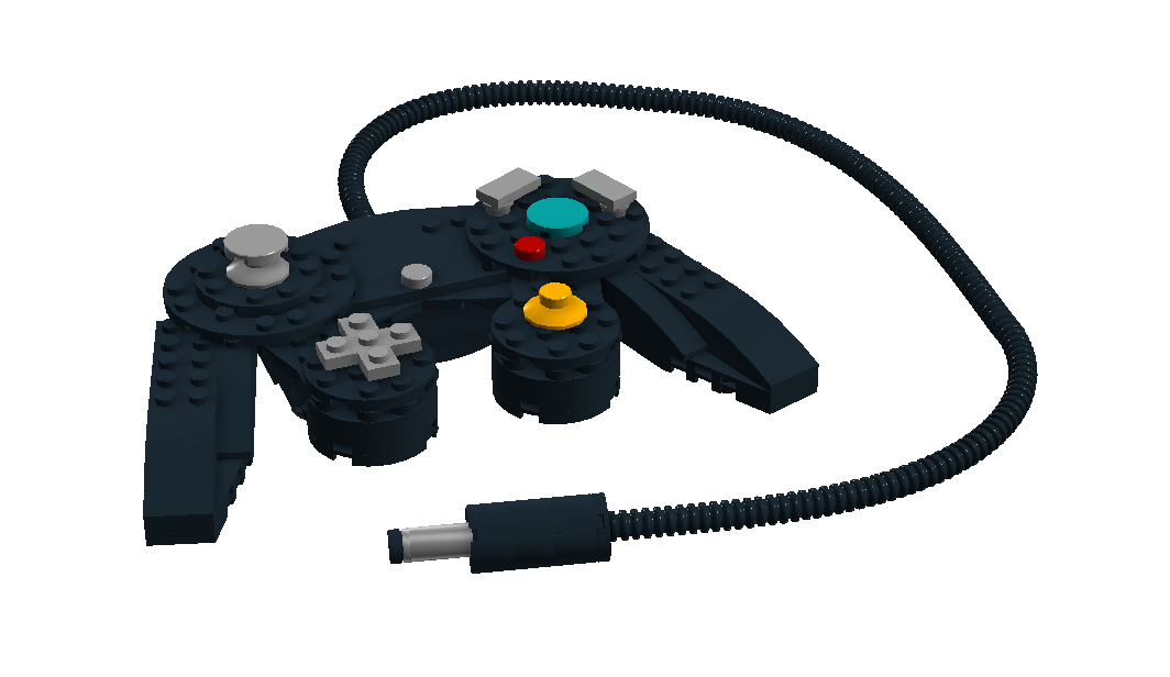 Game cube controller png. Lego ideas product nintendo
