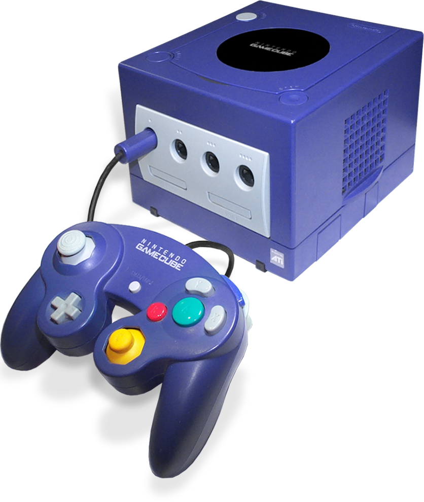 Game cube png. Image nintendo gamecube purple