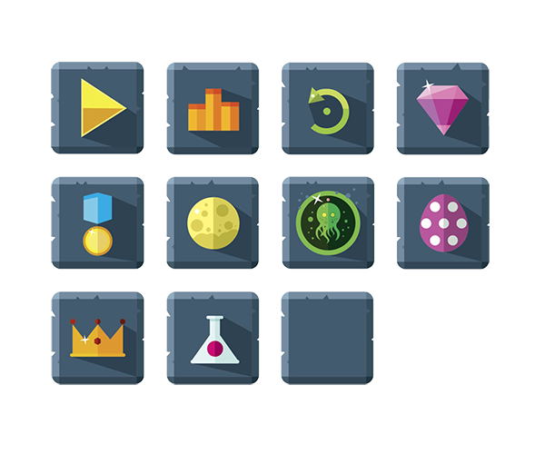 Game menu buttons png. For a art partners