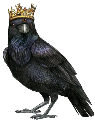 Game of thrones crow png. Eyed raven modfather pinball