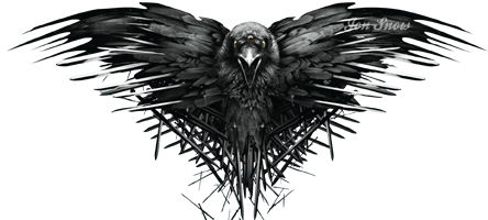 Game of thrones crow png. Sons anarchy eater logos