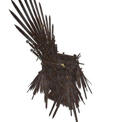 Game of thrones throne png. Got roblox