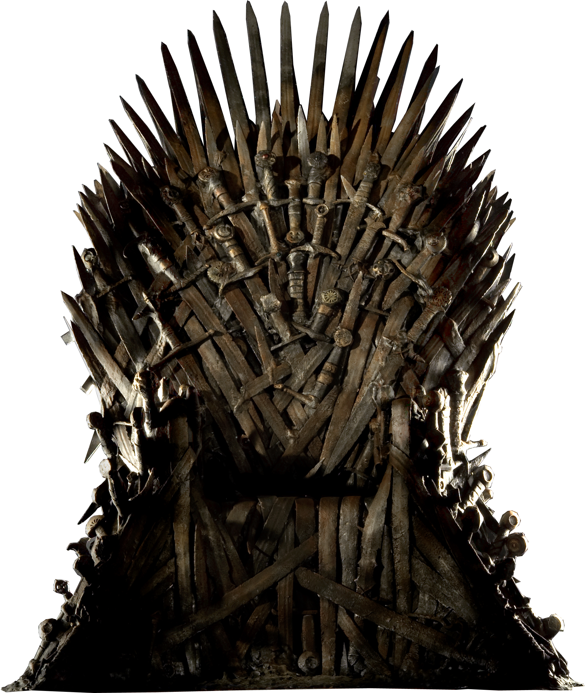 Game of thrones throne png. Download image with no