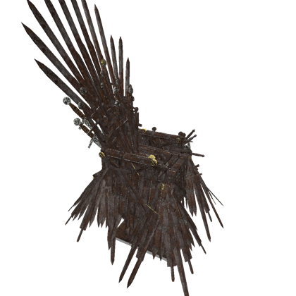 Game of thrones throne png. The iron roblox
