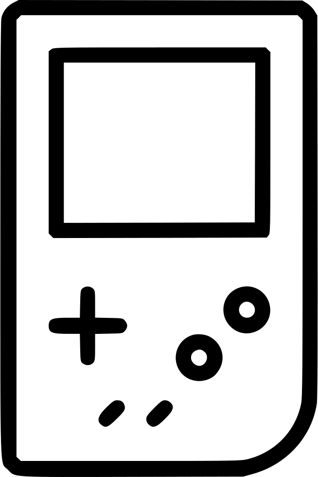 Gameboy Drawing Patent Transparent Clipart Free Download