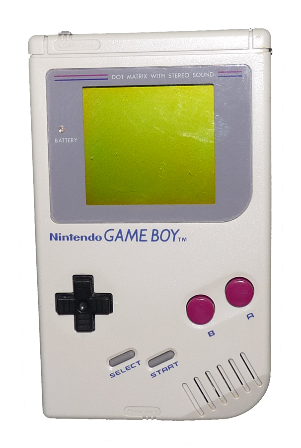 Gameboy transparent green. How which do i