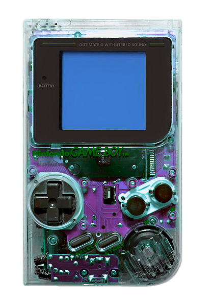 Gameboy drawing oskunk. This was the first