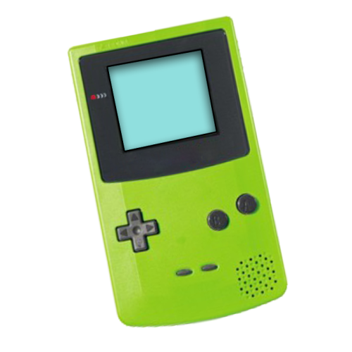 Gameboy transparent green. Shared by polasia nuot