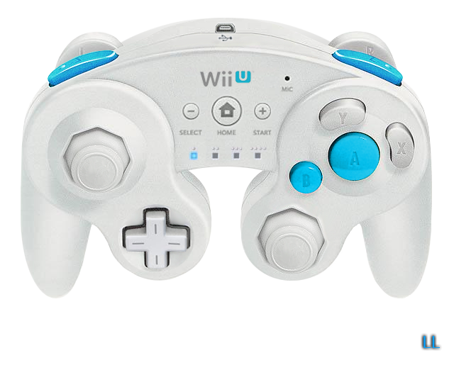 Wii transparent modded. Gamecube controller smashboards wiiuclassicpng