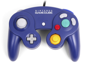 Gamecube transparent indigo. Nintendo controller yourgamingshop com