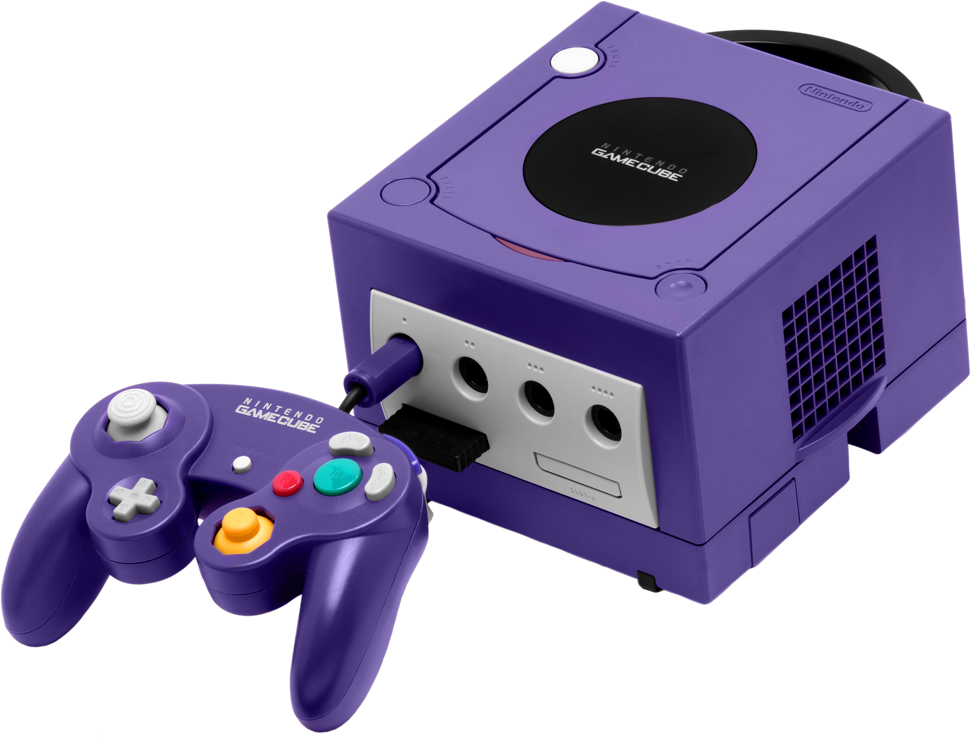 Gamecube transparent indigo. Nintendo video games fanon