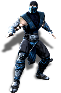 Video games characters png. Image sub zero mk