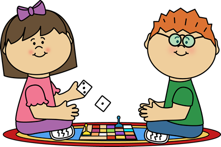 Board clipart game. Kids playing games shop
