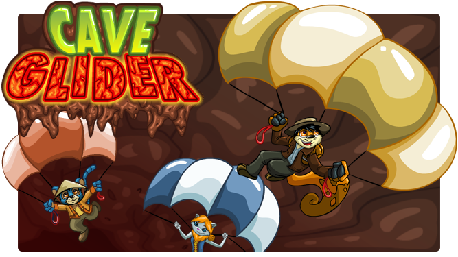 Games clipart game room. Cave glider d brush