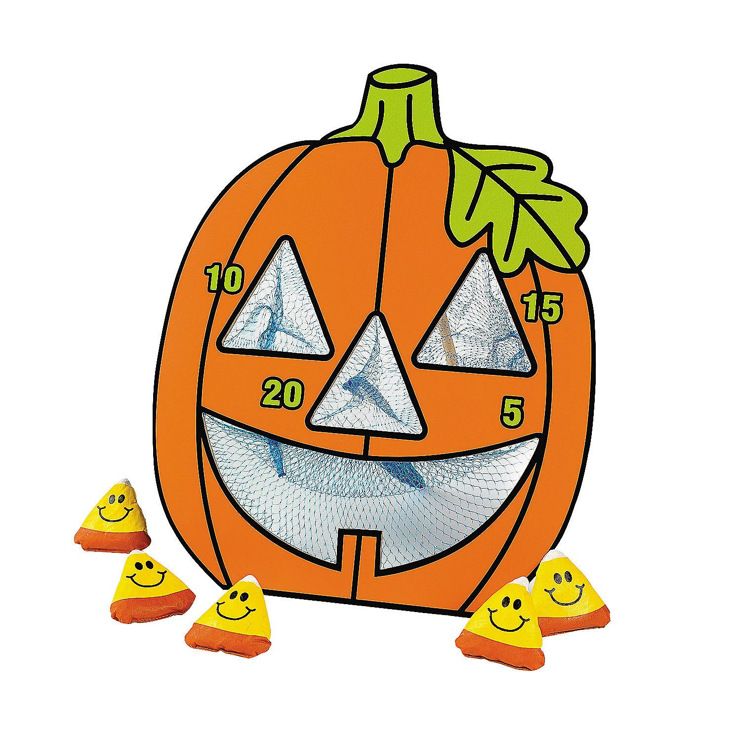 Games clipart halloween. Jack o lantern bean