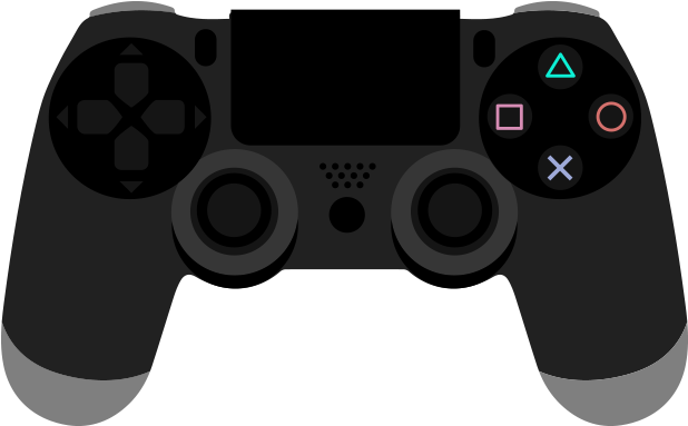 Games clipart video. Download hd ps controller