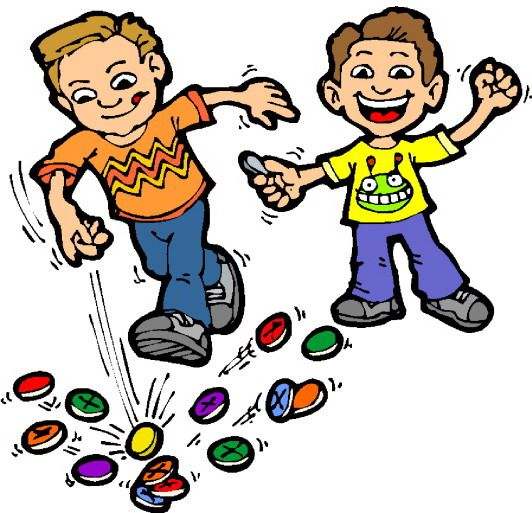 Games clipart. Kids playing outdoor shop