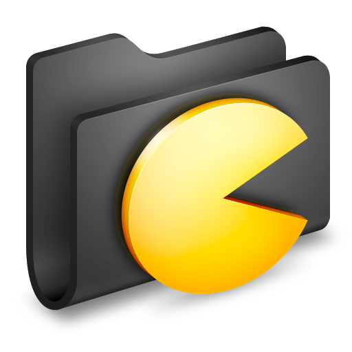 Games folder icon png. Alumin by wil nichols