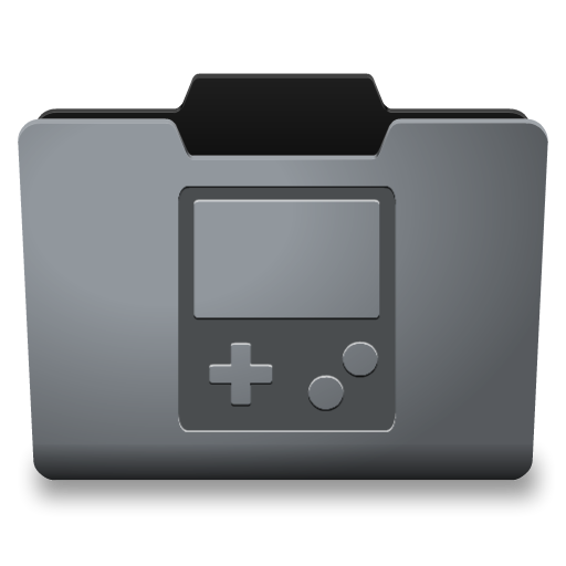 Games folder png. Steel icon classy icons