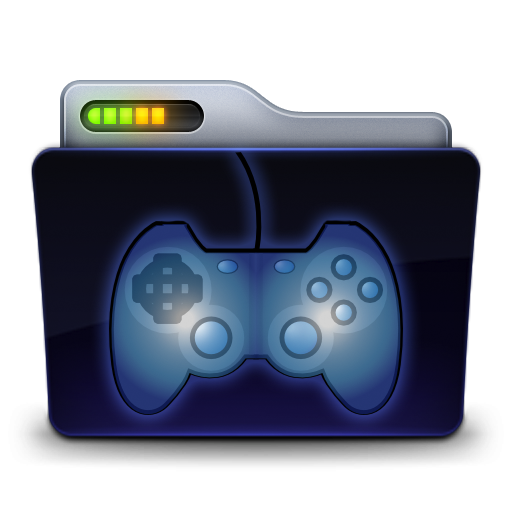 Games folder png. Icon by zeaig on